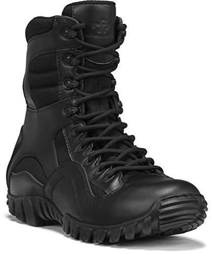 TACTICAL RESEARCH TR Men's Khyber TR960 Hot Weather Lightweight Tactical Boot, Black - 12 R