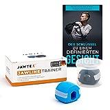 Jawline Trainer - Jawtex, Jaw Trainer, Kiefer Trainer, Doppelkinnentferner, zwei Schwierigkeitsgrade, inklusive GRATIS E-Book