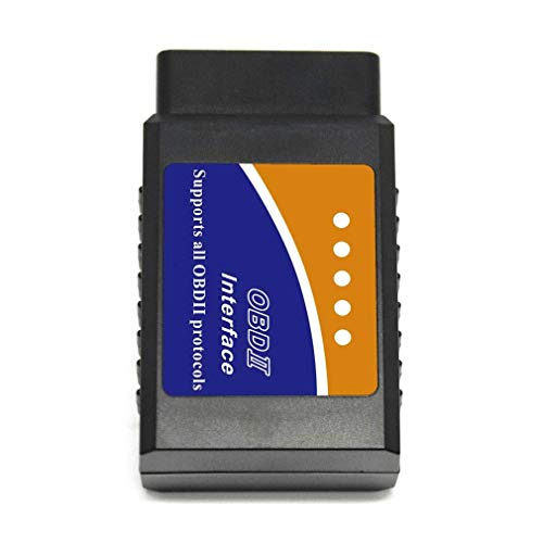 Greetuny Nueva Herramienta de diagnóstico de la Interfaz de Bluetooth de la Interfaz del Coche ELM327 V2.1 OBD2 para Android (Black One Size)