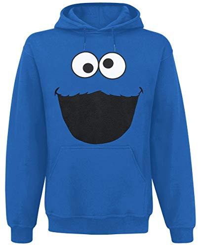 Sesamstraße Monster Männer Kapuzenpullover Royalblau M