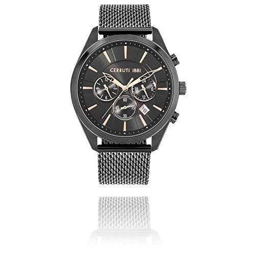 Herren-Armbanduhr Cerruti Grottamare Milanaise-Armband 44 mm CRA28003