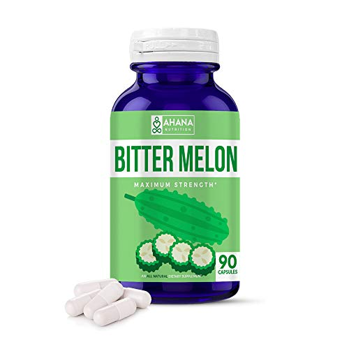 Ahana Nutrition organic bitter melon capsules