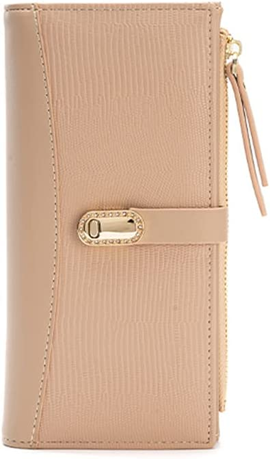 Belsmi 2021 Fashion Women Long Leather Clutch Sales for sale Zipper Wallet Pock Japan Maker New