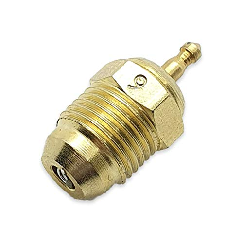 CONICAL Turbo Glow Plug / BUJIAS RC N° 9 - FOR Racing Stroke Engines - RC Cars - ON Road
