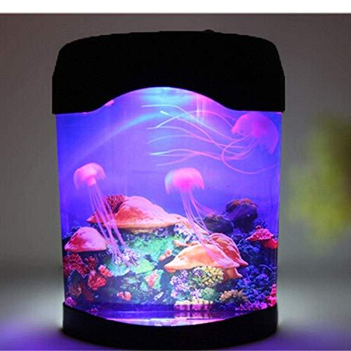 Gearmax® LED künstliche Quallen Aquarium Beleuchtung Jellyfish Dekoration Fisch Behälter Nachtlampe
