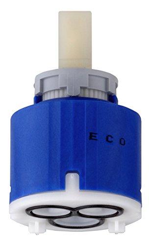 Cornat Eco Kartusche 2 Stufen Einstellung, Temperaturbegrenzer, Durchmesser 40 x Höhe 62 mm, Hebel hat eine spürbare Sperre (klick!!),Sparfunktion spart Wasser und Energie, 1 Stück, AE212