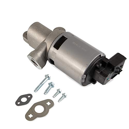 EGR Exhaust Gas Recirculation Valve Replacement for Jeep Wrangler Pacifica Town & Country Dodge Grand Caravan VW Routan Fits V6 3.3L or 3.8L Replaces 4593896AB 4861674AB 4861674AC (Gray)