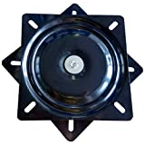 MySit 10' (245mm) Square Swivel Replacement for Recliner Chair or Furniture - Ball Bearing Swivel Plate Mechanism - Flat (SwivelPlate_10)
