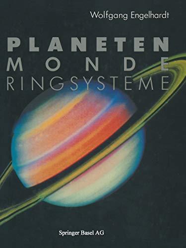 Planeten Monde Ringsysteme: Kamerasonden Erforschen Unser Sonnensystem (German Edition)