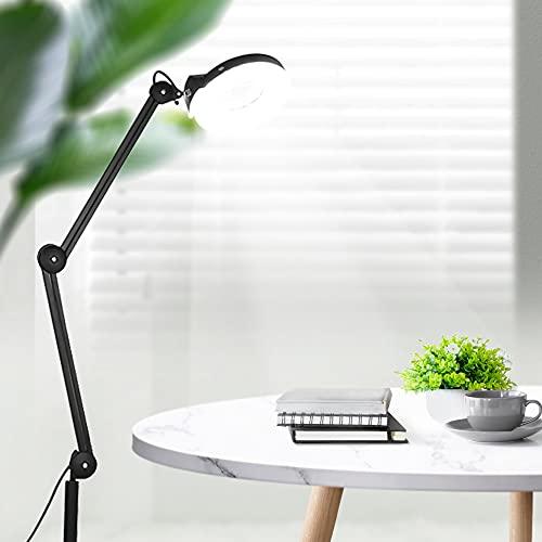 Cocoarm LED Lampada d'ingrandimento Estetica Professionale con 5 Diottrie...
