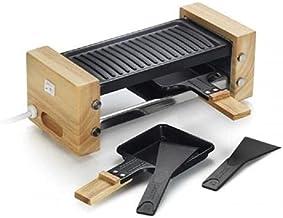 Kitchen chef - wood duo - Appareil à raclette 2 personnes 350w + gril