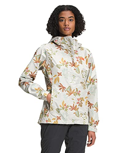 The North Face Women's Venture 2 Jacket, Vintage White Spaced Lone Wanderer Print, XS