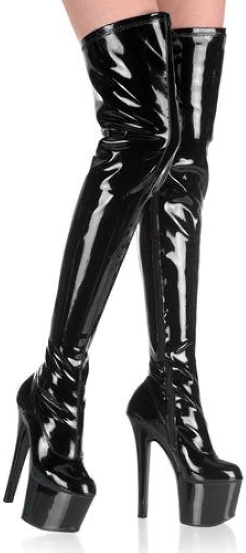 15   17   20 cm hohe stiefel heels schuhe knie zeigen kunden stiefel