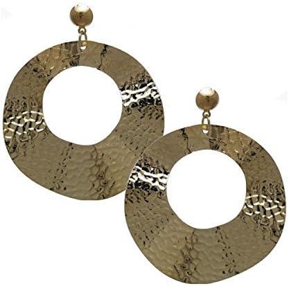 TALISMAN Gold tone Clip On Earrings