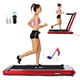 Best Folding Treadmills - FUNMILY 2 in1 Folding Treadmill, 2.25HP Under Desk Review
