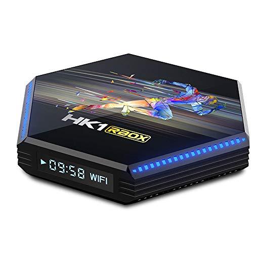 GEQWE Android TV Box 11.0 4GB RAM 64GB ROM Smart TV Box Android Box RK3566 Ultra HD 1080P 4K HDR WiFi 2.4Ghz 5Ghz Set-Top Box,4gb+64gb