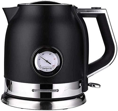 1.8L Hervidor eléctrico de acero inoxidable Cocina Hervidor inteligente Samovar Tetera con agua Control Meter-B-A