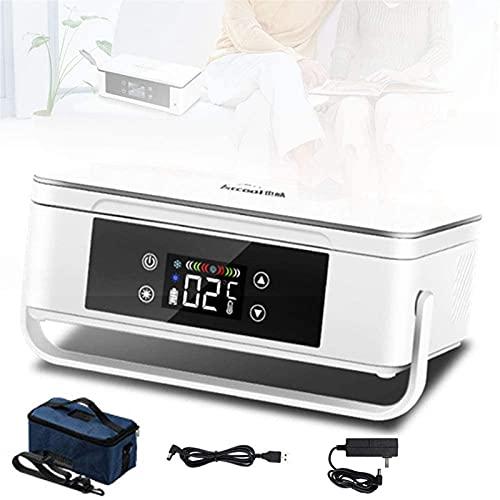 XnalLKJ Frigorífico De Medicina para Automóviles, Caja De Refrigeración De La Insulina, Refrigerador De Medicina Portátil De 2-8 ° C, Refrigerador De Automóvil Refrigerador Refrigerador Médico