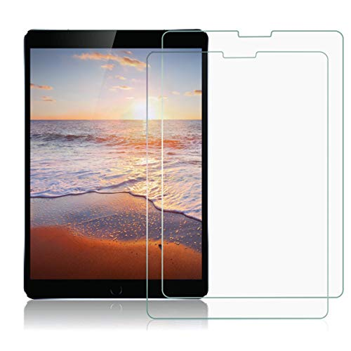MOSISO Screen Protector Compatible with 2020 2018 iPad Pro 11 Inch (USB Type-C, 2nd/1st Gen.), 9H Hardness Scratch Resistant Tempered Glass HD Protective Film (2 Pack), Crystal Clear