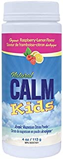 NATURAL VITALITY Magnesium Citrate Powder Kids Calm, 113 GR