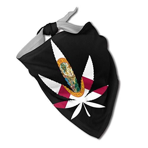 Sdltkhy Weed - Bandana con diseño de bandera de Lorida