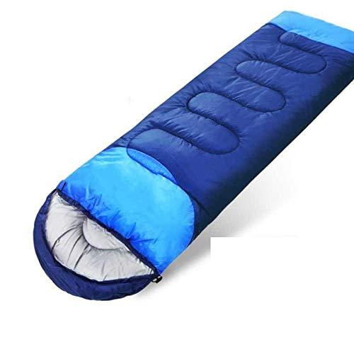 DLSM Verdickter Schlafsack für Erwachsene Erwachsene Doppelzimmer Outdoor Outdoor Wild Camping Warm Baumwolle Schlafsack Herbst und Winter T88-2.3kg mittelgrün