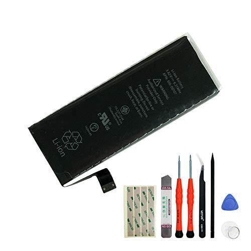 Batteria sostitutiva 616-00107 1624mAh 3.82V Compatibile con Apple iPhone SE con strumenti