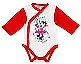 Kleines Kleid Minnie Mouse Langarm Body Farbe Modell 12, Größe 74