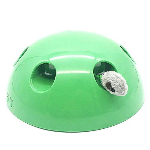 LICHENGTAI Pop-N-Play Katzenspielzeug, Elektronische Katzenspielzeug mit Maus, Lustiges interaktives Katzenspielzeug, Cat Schnappen Gerät Lustige Katze Lustige Katze Werkzeug-Greifer-Pet Supplies