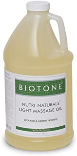 Biotone Nutri-Naturals Products Light Massage Oil, 64 Ounce