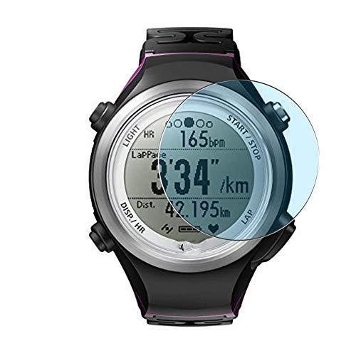 Vaxson 3 Stück Anti Blaulicht Schutzfolie, kompatibel mit Epson Runsense SF-810 Smartwatch Hybrid Watch, Bildschirmschutzfolie TPU Folie Displayschutz [nicht Panzerglas Hülle Hülle ]