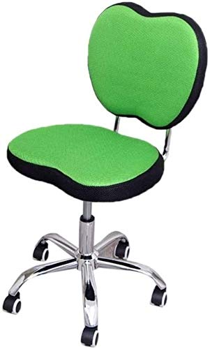 WYL Executive Recline Swivel Chair Breathable, Easy to Clean Chair Computer Chair Office Chair Conference Chair Reception Chair Hospital Chair Padded Office Chair (Color : Green)