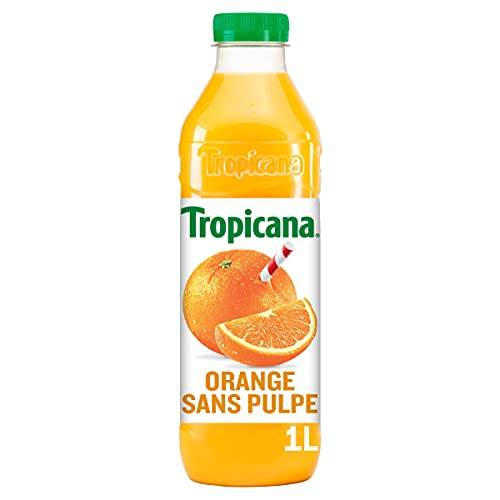Tropicana Pur Jus d'Orange Sans Pulpe 1L