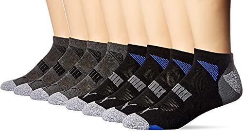 Puma No Show Mens Socks 8 Pack blackgreyblue UK 6 8