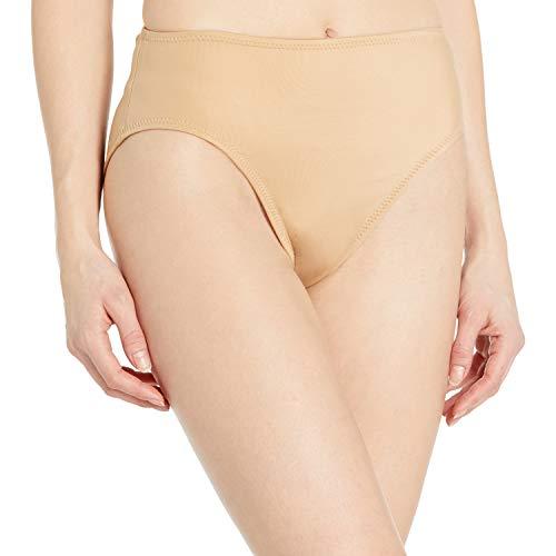 Norma Kamali Damen Underwire High Waisted Bikini Bottom Bikinihose, Nude, Large