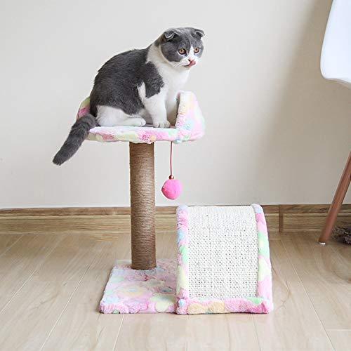 Cat boomtribune huis bal toren toy met bal bel meubels kitty ademend pet training speelgoed