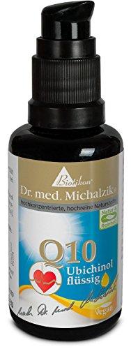 Ubichinol Q10 - Produktinnovation aus dem Hause Biotikon® - bessere Bioverfügbarkeit - nach Dr. med. Michalzik® - ohne Zusatzstoffe - von BIOTIKON®