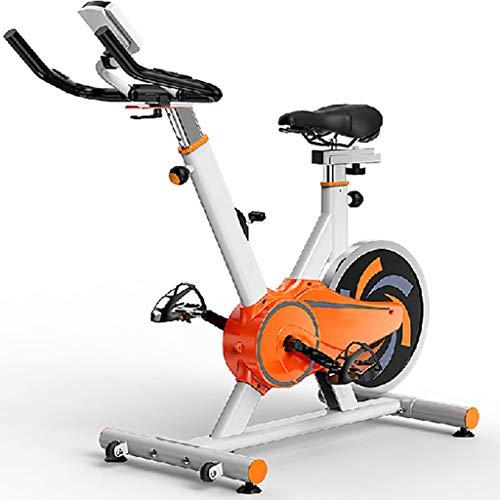 DXIN Bicicleta Estática para El Hogar Bicicleta De Spinning Silenciosa Bicicleta De Entrenamiento Aeróbico Oficina De Carga 120KG Equipo De Entrenamiento con Pantalla HD