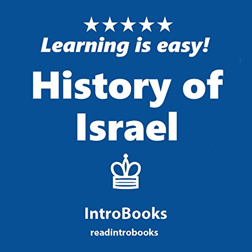 History of Israel audiobook cover art