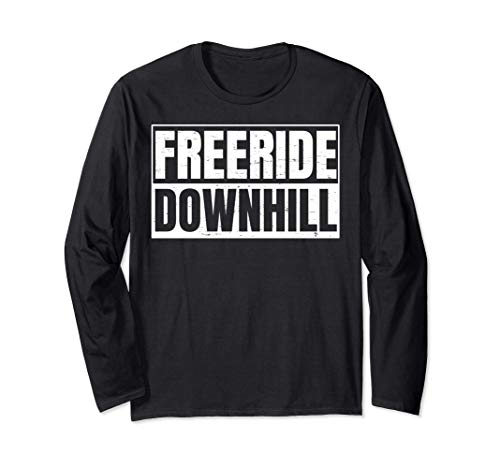 MTB Bike Downhiller Design für Freeride Downhill Biker Langarmshirt