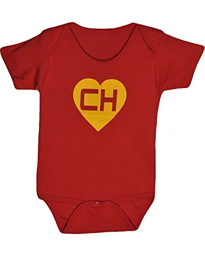 Chapulin Colorado Bodysuits CH Baby Shirt Chespirito Chavo del Ocho No Contaban (18 Months) Red