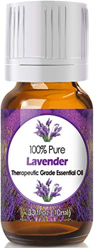 Lavender Essential Oil for Diffuser & Reed Diffusers (100% Pure Essential Oil) 10ml