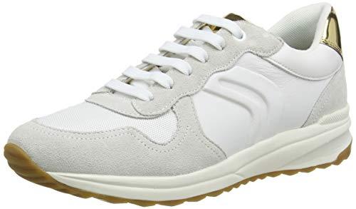 Geox D AIRELL C, Zapatillas para Mujer, Blanco (White C1000), 40 EU