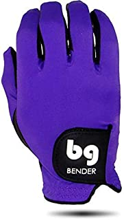 BG Spandex Golf Gloves for Men, Left Handed (Wear on Right Hand), Easy-Grip - BenderGloves
