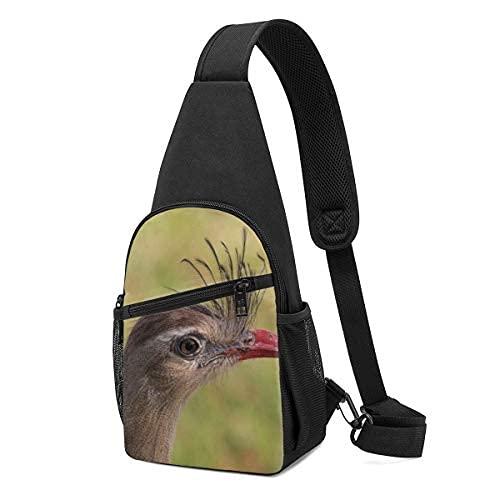 Bandolera de hombro de la mochila de la honda de las piernas rojas