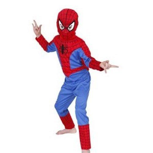 Rubie's-déguisement officiel - Spiderman - Déguisement Costume Classique Spiderman + Cagoule - Taille L- I-881306L