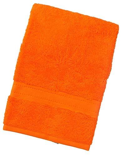 aztex Gama egipcia, Toallas 100% algodón - Toalla de Mano, Naranja