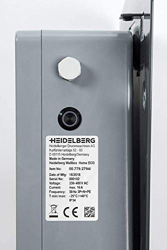 Heidelberg Wallbox Home Eco – Ladestation Elektro- & Hybrid Autos 11 kW maximale Ladeleistung (5m) - 8