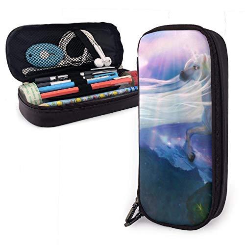 Fantasy Uni_Corn Horse Stationery Bag, indrukwekkende make-uptasjes voor uitstapjes op reis, voor op kantoor, 20 x 9 x 4 cm