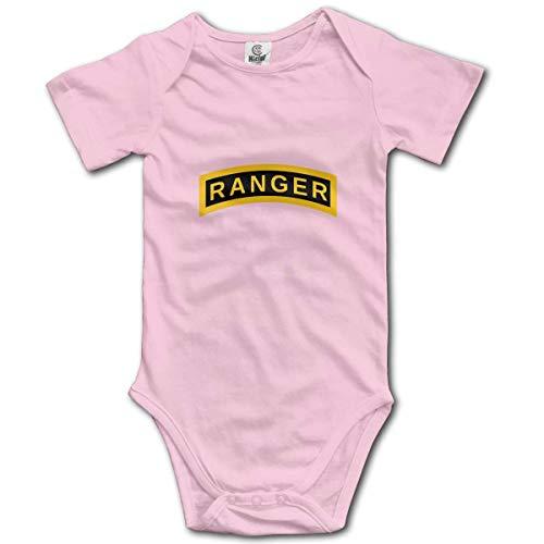 Klotr US Army Retro Ranger Shorts de bebé para bebés Body de Manga Mamelucos Trajes
